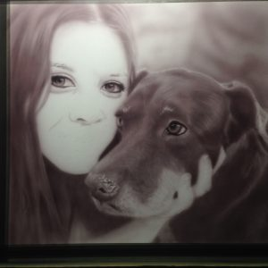 Dog and Owner Portrait Process